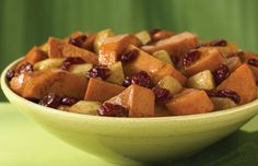 Ziploc® Brand Zip 'n Steam® Sweet Potatoes with Apples & Cranberries- Made this as a side with Herbs de Prov. chicken. I used white organic sweet potatoes and was very tasty.