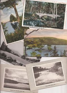 Old Maine postcards