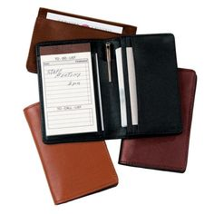 Personalized Royce Royce Leather Deluxe Notepad Organizer