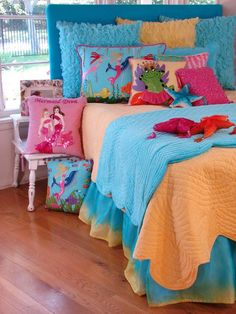 Mermaid Bed In A Bag Bedding Set Zulily Our Girls