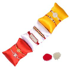 Six Splendid Rakhi Set