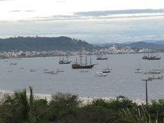 Cachoeira do Bom Jesus praia em Florianópolis- SC