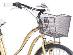 Cruiser Mujer Dorado Mustache ¿Piensas en darte un gusto? ¿Qué tal esta bicicleta? gamabikes.com
