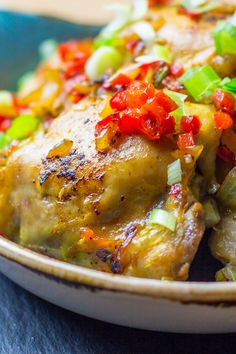 Syn free salt and pepper chicken slimming spanish st Salt And Pepper Pork Recipe, Salt And Pepper Chicken, Pork Recipes, Diet Recipes, Cooking Recipes, Dinner Recipes For Kids, Healthy Dinner Recipes, Healthy Food, Healthy Eating