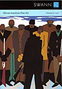 Jacob Lawrence's The Legend of John Brown, a portfolio with 22 color screenprints, 1977, which sold for a record $156,000