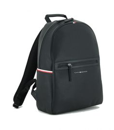 Backpack Tommy Hilfiger Essential PU schwarz Nylons, Tommy Hilfiger, Laptop Rucksack, Original Design, Leather Backpack, Essentials, Backpacks, Bags, Fashion