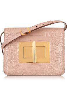 TOM FORD - Jennifer medium textured-leather shoulder bag. Beige Shoulder  BagsShoulder ... b3128d1123