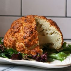 Spicy Whole Roasted Cauliflower Recipe