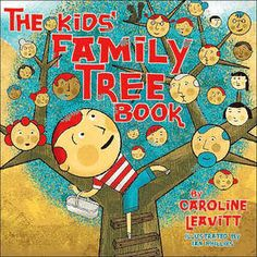 "LOVE ""The Kids Family Tree Book"" with chapters about interviewing your grandparents, collecting family recipes, making a time capsule, writing a family newsletter, figuring out who your cousins are, and yes... searching online."