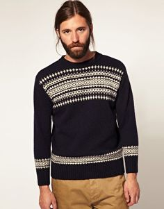 YMC Fairilse Crew Neck Jumper