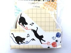 Kawaii Cat Sticker Tape Japanese Stickers by TheCatStore on Etsy