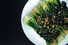 Бок-чой с устричным соусом - рецепт