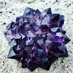 Amethyst is one of my favorite stones, not only because it's beautiful but also because it promotes serenity. It promotes hormone balance, weight loss, and detoxifies the body. What is your favorite thing about Amethyst?