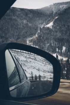 The rearview is the start of your fore view.