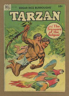 Tarzan #10 GD 2.0 1949 Tarzan Book, Great Stories, Gd, Fantasy Art, Character Design, Comics, Disney, Ebay, Comic Art