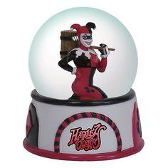 Batman Harley Quinn Water Globe - Westland Giftware - DC Comics - Snow Globes at Entertainment Earth