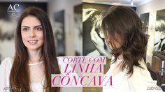 CORTE COM LINHA CÔNCAVA