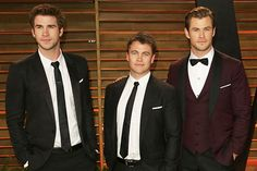 Siblings In Hollywood You DIDN'T Know About  Liam, Luke,& Chris Hemsworth Bonus Hemsworth is actually the eldest of the strapping bunch — he just hasn't broken through on our shores. Luke Hemsworth got his start on the Australian soap Neighbours, but he became disillusioned with the entertainment biz. He opened a timber flooring business, where both Chris and Liam have worked, and is married with two ...