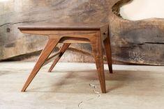 Made Coffee Table, Walnut Coffee Table, Modern Coffee Tables, Modern Wood Furniture, Mid Century Modern Desk, Walnut Veneer, Wood Table, Wood Species, Great Rooms
