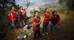 Newsela | Women guiding mountain trekkers alongside men in Nepal