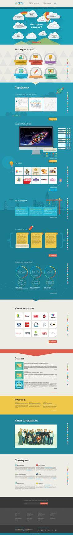Unique Web Design, SECL Group #WebDesign #Design (http://www.pinterest.com/aldenchong/)