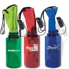"""Bag-In-A-Bottle.  Two best sellers combined into one.  The String-A-Sling Backpack inserted into the Wide-Mouth Big Bottle.  Bottles are intended for cold beverages only and should not be stored near extreme heat. Hand wash only. Not dishwasher safe or microwavable.  8-7/16"""" tall; 3-1/2"""" bottom dia. bottle  14-3/4""""w x 18-3/4""""h flat bag."""
