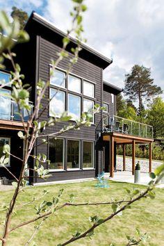A villa in Saltsjö Boo, outside Stockholm, Sweden