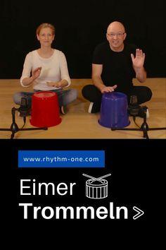 Eimertrommeln Übungen Rhythmik und Sprache Bucket Drumming, Elementary Music Lessons, Winter Activities For Kids, Music Activities, Teaching Music, Musicals, Homeschool, Workshop, Children