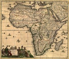 Tallis southern india including the presidencies of bombay and africa 1688 antique world map old world map by mapsandposters 999 gumiabroncs Image collections