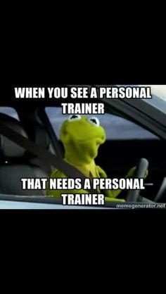 Gym humor...all the time