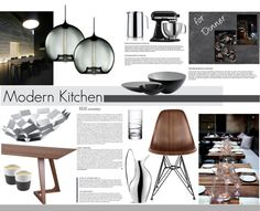 """Modern Kitchen"" by nmkratz on Polyvore"
