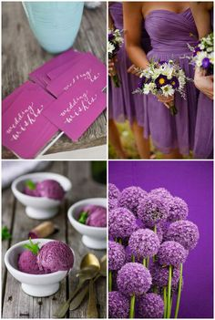 Purple wedding inspiration