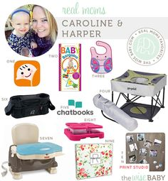 Happy Wednesday mama's and papa's. Today is going to be a good day, we have an all sorts of fabulous list of real moms favorites courtesy of one very wis