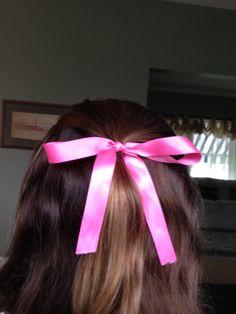 Curls and a bow! Curls, Bows, Hair Styles, Beauty, Fashion, Arches, Hair Plait Styles, Moda, Bowties