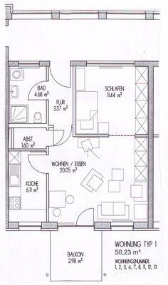 Bildergebnis für betreutes wohnen grundriss Floor Plans, Assisted Living, Floor Layout, Floor Plan Drawing, House Floor Plans