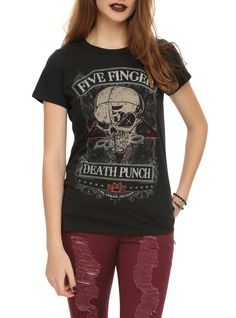 Got your Five Finger Death Punch tee yet?