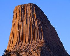 Some Indians called it Mato Tipila, meaning Bear Lodge. Other American Indian names include Bear's Tipi, Home of the Bear, Tree Rock and Great Gray Horn. In 1875, on an expedition led by Col. Dodge, it is believed his interpreter misinterpreted the name to mean Bad God's Tower, later shortened to Devils Tower.