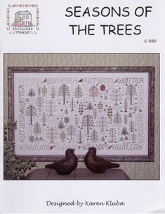 rosewood manor cross stitch pattern language of the