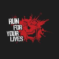 Run For Your Lives 5k obstacle course where you can either run away from zombies or chase the survivors.