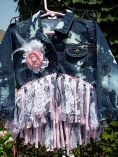 Denim & Lace denim jacket.