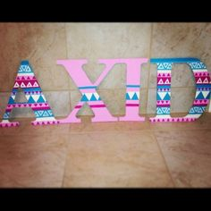 Alpha Xi Delta sorority letters for my future dot