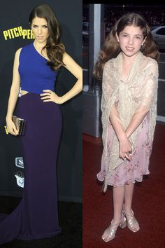 ANNA KENDRICK 2015: At the Pitch Perfect 2 Los Angeles premiere Then: At the 52nd Annual Tony Awards in1998   - ELLE.com