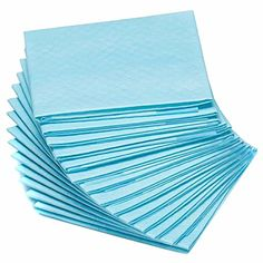 50pcs Blue Dog Cat Pure Wood Pulp Diaper Pet Nappies Sheet Antibacterial