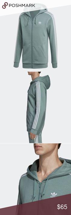 Details about Adidas Girls Sports Training Jacket Essentials 3S Full Zip Hoodie Grey Pink show original title