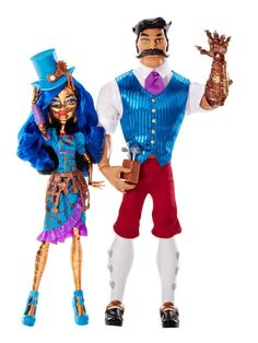 SDCC Monster High Exclusive - Robecca Steam & Hexiciah Steam 2 Pack Doll Set