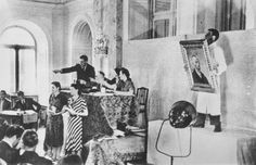 Auction of 125 artworks confiscated from German museums in 1937, at Galerie Theodor Fischer, Lucerne, Switzerland_with Vincent van Gogh's Self Portrait, 1888, on the block
