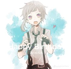 Bungou Stray Dogs - atsushi, is too cute to bare