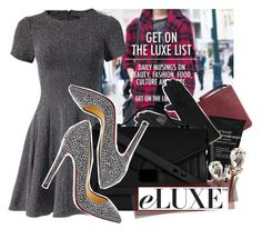 """""""Eluxe.ca"""" by ladybow ❤ liked on Polyvore featuring TIBI, Ela, Dr. Brandt, 8 Other Reasons, Echo Design, Loeffler Randall and Christian Louboutin"""