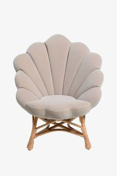 Home decor - The upholstered venus chair Funky Furniture, Unique Furniture, Shabby Chic Furniture, Home Furniture, Furniture Design, Mermaid Bedroom, Interior Decorating, Interior Design, Chair Design