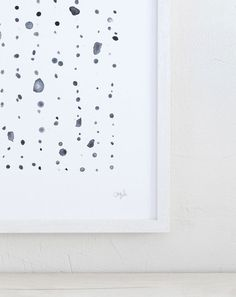 """Dew"" art print by www.silkebonde.com"